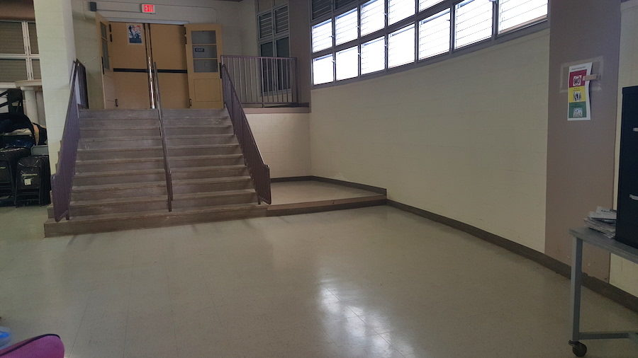 This is where lock out students report and wait till the end of their lockout period.