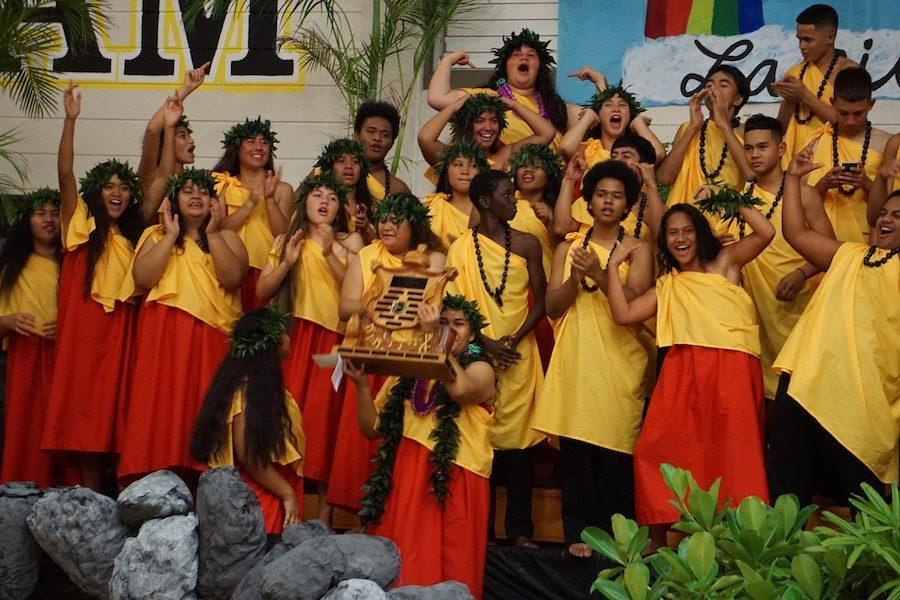 Congratulations to the Class of 2019 for winning the 2017 NHIS Songfest competition. The annual event promotes the Hawaiian culture and language through song and competition between grade levels.