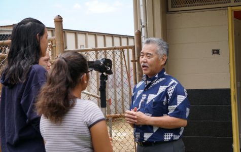 Ka Leo `O Nanakuli: Governor Ige Visit Photo Gallery