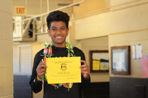 Photography Class: Middle School Awards Assembly Photo Gallery