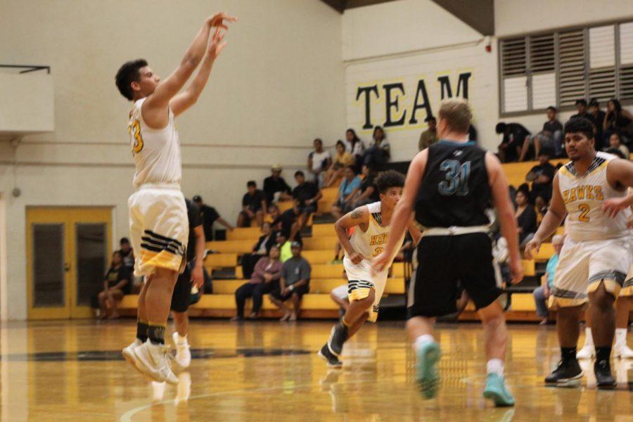 Photography Class: Boys Basketball vs Kapolei