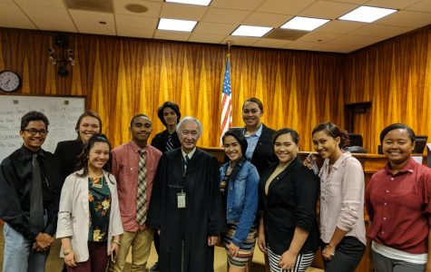 Mock Trial Team Makes Strong Opening Statement