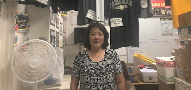 Jean Nishi NHIS Student Activities Coordinator is retiring after over 30 years of service.