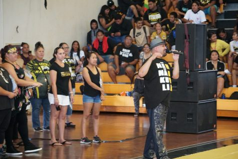 Ka Leo ʻO Nānākuli: Welcome Back Assembly Photo Gallery