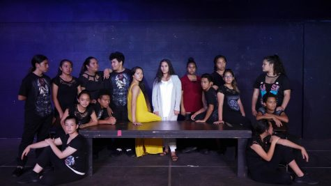 The cast of NPACʻs Jesus Christ Superstar.