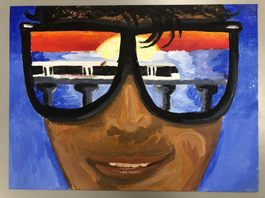 Joshua Kaliko 1st Place HART Poster Contest in Fine Art Category for 11th and 12th Graders