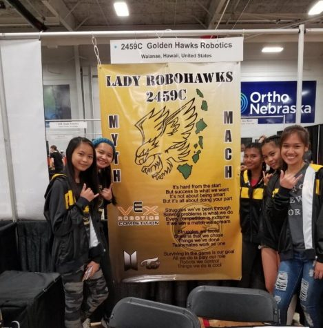 Lady Robohawks impress at Create National Robotics Competition