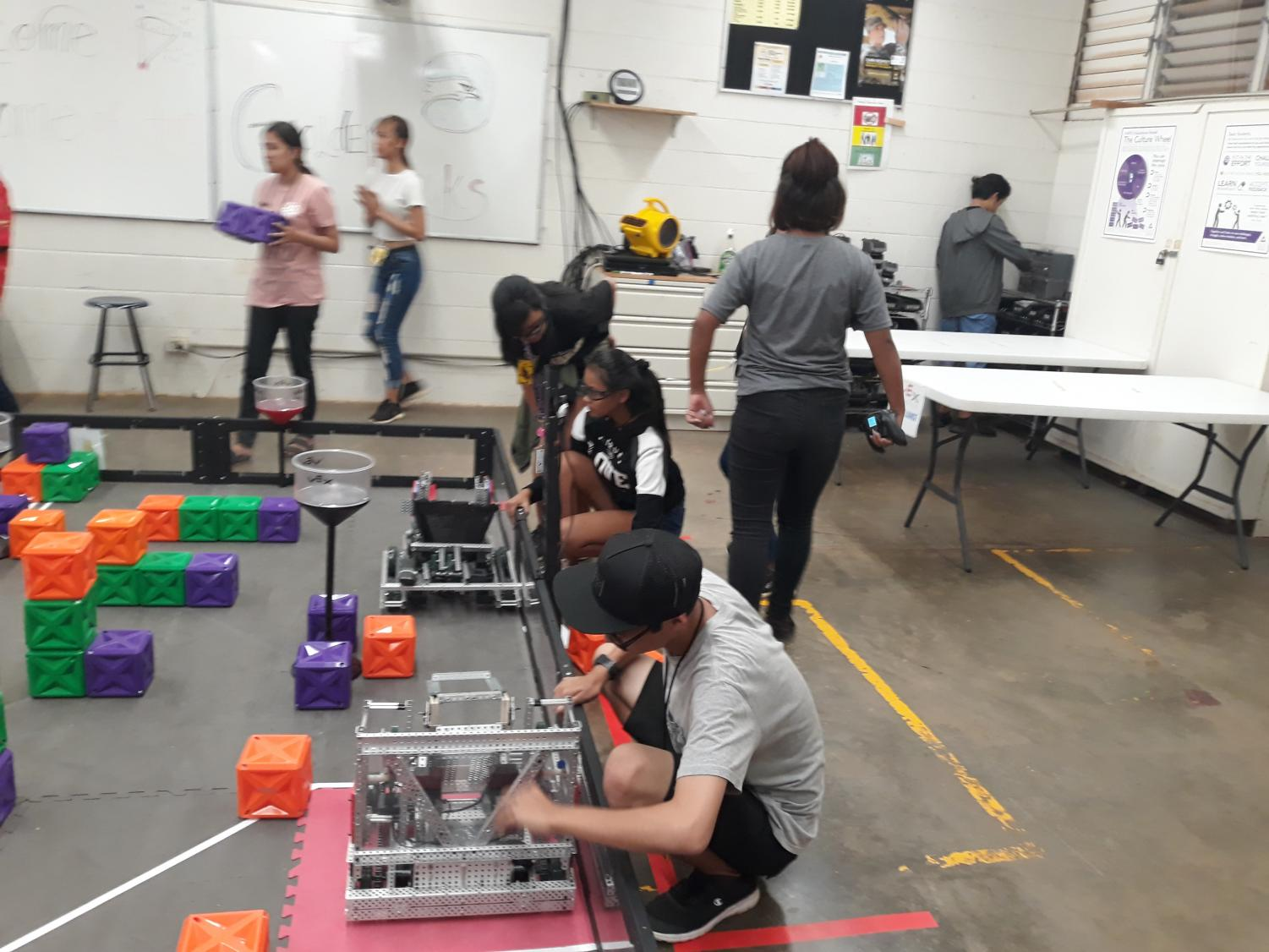 Robotics would be one class that students would take under the Design Academy next school year.